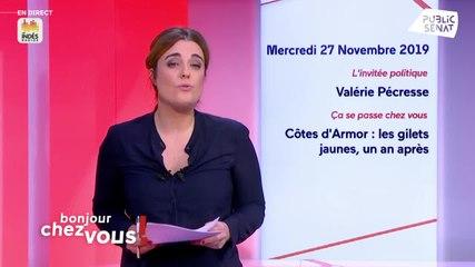 Valérie Pécresse - Public Sénat mercredi 27 novembre 2019