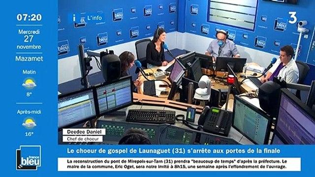 La matinale de France Bleu Occitanie du 27/11/2019