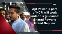 Ajit Pawar is part of NCP, will work under his guidance: Rohit Pawar