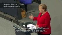 """Merkel: Zwei Prozent für Rüstung bis """"Anfang der 30er Jahre"""""""