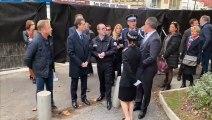 LE CAP D'AGDE - Le Préfet vient poser la première pierre du futur centre de polices commun
