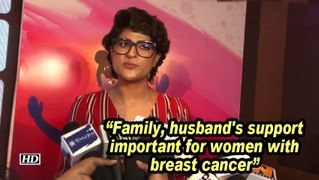 Tahira Kashyap: Family, husband's support important for women with breast cancer