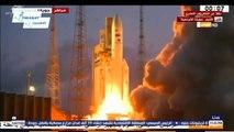 """إطلاق القمر الصناعى المصرى الأول لأغراض الاتصالات """"طيبة -1 """""""