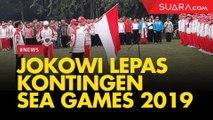 Presiden Jokowi Lepas Kontingen Sea Games 2019