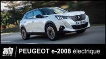 Essai Peugeot e-2008 : le crossover 100% électrique POV Auto-Moto.com