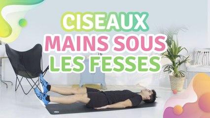 CISEAUX : MAINS SOUS LES FESSES - Améliore ta santé