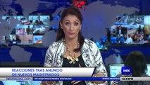 Reacciones tras anuncio de nuevos magistrados - Nex Noticias