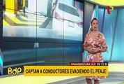 Panamericana Sur: malos conductores usan modalidad para evadir peajes