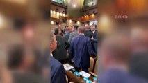 """İBB Meclisi'nde 'had bildirme' gerginliği; """"AKP'li meclis üyesi CHP'li meclis üyesine 'Lan' deyince kavga çıktı"""""""