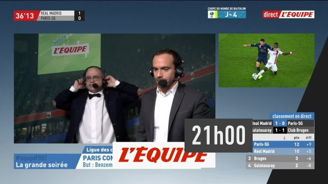 La Grande Soirée du 26 novembre - Real Madrid - PSG, Ligue des Champions - Football - Replay