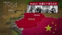 """ China: 2015 bis heute  XINJIANG -  Der ferne westen Chinas... "" - Mit offenen Karten | WOLPERT undercover."