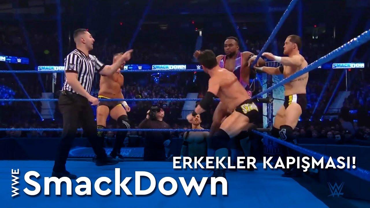 WWE SmackDown | Erkekler Kapışması! (Türkçe Anlatım)