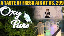 As Delhi chokes, an 'oxygen bar' shows us what real fresh air feels like | OneIndia News