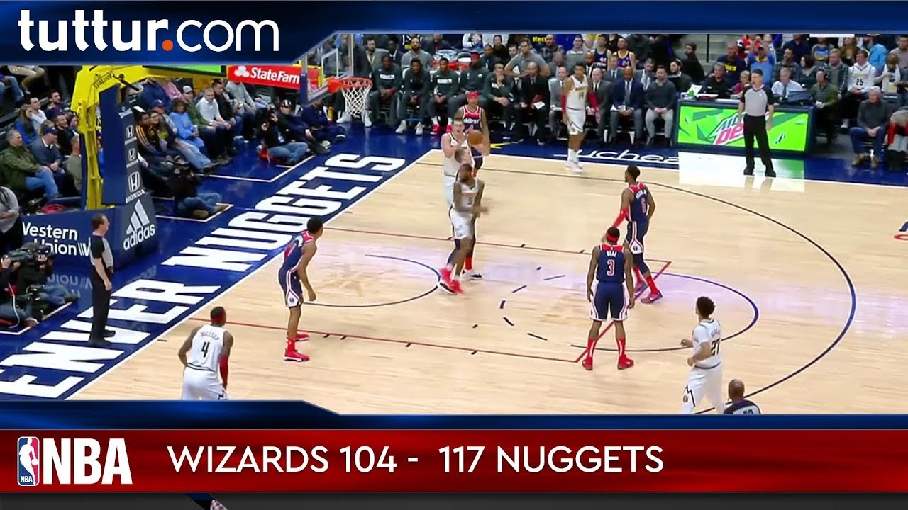 Washington Wizards 104 - 117 Denver Nuggets