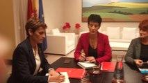 Chivite se reúne con EH Bildu sobre Presupuestos