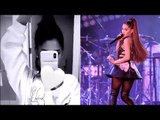 Ariana Grande shows off natural hair but won't take out iconic high ponytail