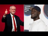 Jeremy Corbyn showers Stormzy with praise after rapper urges fans to register to vote