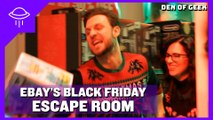 Den of Geek Goes To eBay's Escape The Room Event!