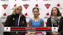 Novice Women Short (Skaters 32-43) RINK B: 2020 Skate Canada Challenge / Défi Patinage Canada (3)