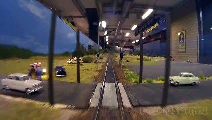 Voyage en cabine sur la plus grande maquette ferroviaire en Suède - Une vidéo de Pilentum Télévision - Modélisme ferroviaire, trains miniatures, maquettisme et chemin de fer