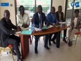 RTG - Compte rendu de la réunion du bureau del'assemblée nationaleprésidée par M. Faustin Boukoubi