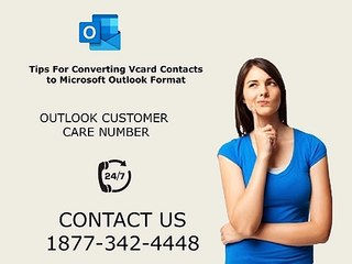 Tips to Converting Vcard Contacts to Outlook Format | 1877-342-4448