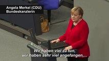"""Merkel zur Groko: """"Ich bin dabei"""""""