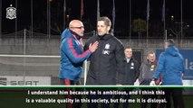 Enrique slams 'disloyal' Moreno after returning as Spain boss