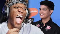 KSI Reacts To Alex Wassabi New Show On Nickelodeon