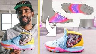Kyrie Irving Breaks Down His Custom In-Game Sneakers