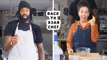 DeAndre Jordan Tries to Keep Up with a Professional Chef