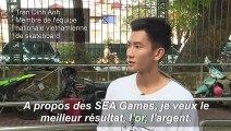 La première équipe de skateboard du Vietnam rêve d'or aux SEA Games
