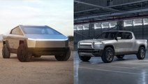 How Tesla's Cybertruck stacks up against the Amazon-backed Rivian R1T electric truck