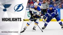 NHL Highlights | Blues @ Lightning 11/27/19