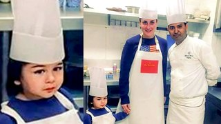 Taimur Ali Khan Turns Chef With Mom Kareena Kapoor Khan | Lal Singh Chaddha SHOOTING