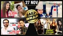 Priyanka's Gift To Nick, Taimur Kareena Turn Chef, Kareena Rejected Saif's Proposal | Top 10 News
