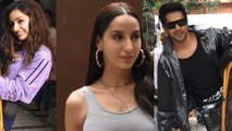 Spotted Shraddha Kapoor, Varun Dhawan & Nora Fatehi at T Series Office  Varun tries his hand at riding a rickshaw