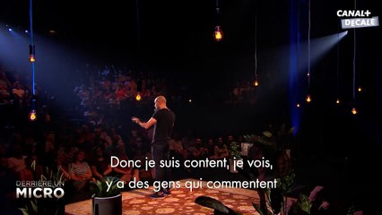 Kyan Khojandi - L' ADDICTION - Derrière un micro Bruxelles