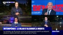 Story 2 : Le bilan des intempéries dans le Sud-Est s'alourdit et fait état de six morts - 02/12
