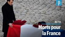 La France rend hommage aux 13 soldats tués au Mali