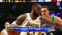 LeBron James Wants Improvement After Lakers 10-Game Winning Streak Ends