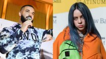 Drake Labeled 'Creepy' by Fans for Frequently Texting Billie Eilish