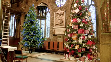 Halifax Minster's Annual Christmas Tree Festival!