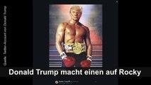 Donald Trump macht einen auf Rocky