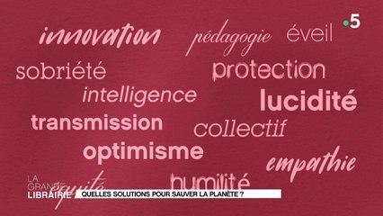 Quels mots et quelles solutions pour sauver la planète ?