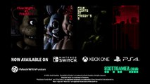Five Nights at Freddy's 1-4 / Bande-annonce de lancement PS4/Xbox One/Switch