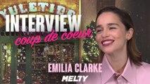 """Emilia Clarke - """"Dans Game of Thrones, c'était génial de brûler tous ces gens"""""""