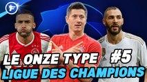 Ligue des Champions : l'équipe type de la 5e journée