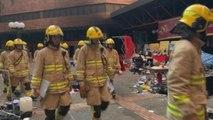 El asedio policial a la Politécnica de Hong Kong se acerca a su fin