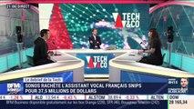 Le débrief de la Tech : Sonos rachète l'assistant vocal français Snips pour 37,5 millions de dollars - 27/11